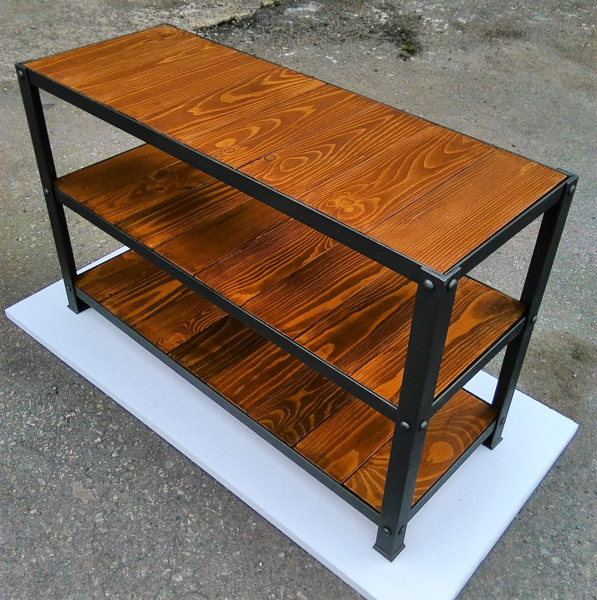 Botník z paletových dosiek Industriálny regál Botník z paletových prken Industriální regál Reclaimed Wood Shoe Rack Shoe Bench Altholz Schuhschrank Range-chaussures en bois de récupération