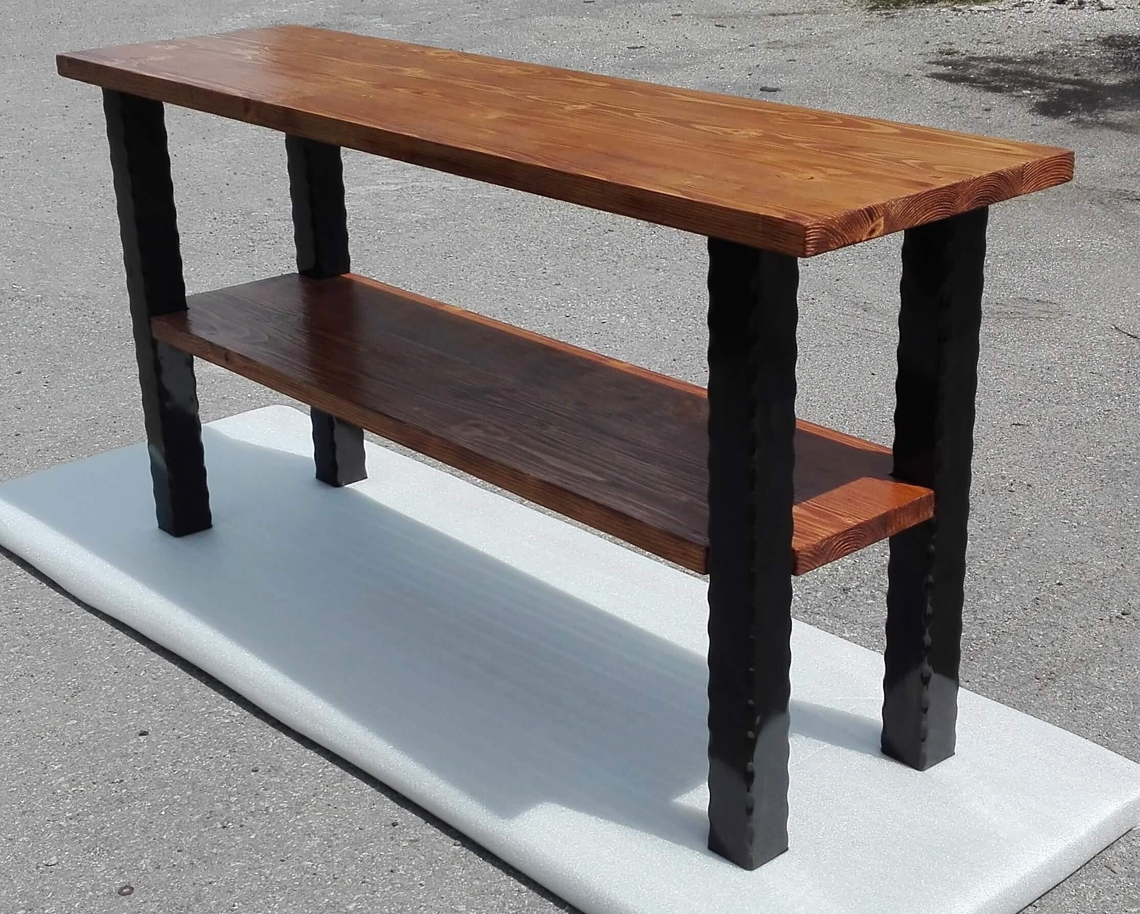 Kovaný pracovný stôl, Vintage stôl, Rustikálny stôl, pracovný pult, kovaný stôl, kovaný pult, Kovaný pracovní stůl, Rustikální stůl, pracovní pult, kovaný stůl, Forged workbench, Geschmiedete Werkbank